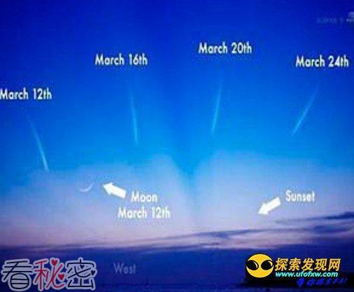 """2013三大彗星齐登场 """"世纪彗星""""更令人期待"""