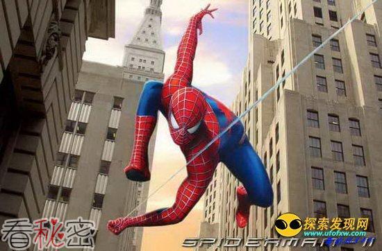 英研究证实蜘蛛侠用蜘蛛网拦截列车是可行的