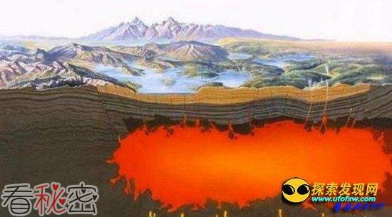黄石公园地下发现巨型岩浆库:酷似长型香蕉