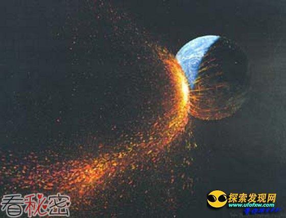 """什么是月球起源的""""大碰撞""""学说?"""