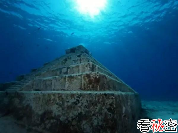 海底金字塔,沉迷的古文明遗迹