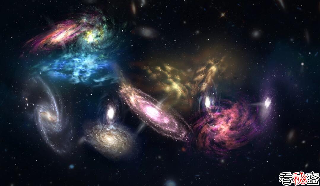 新发现:14个星系团碰撞,将成宇宙最大星系(距地124亿光年)