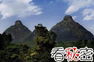 贵州奇观双乳峰,山峰凸起酷似女性双乳(看了脸红害羞)