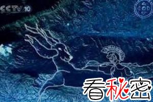 卫星地图发现神秘人形图之谜,山顶惊现麒麟武士(外星人)