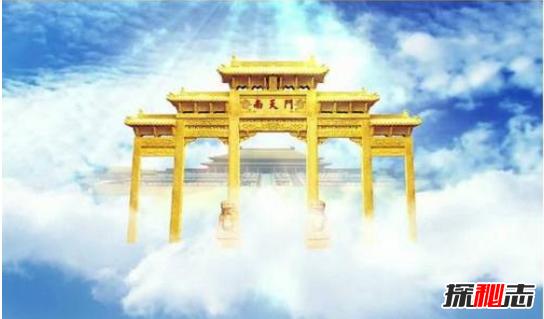世界上真的有天宫存在吗,飞机上拍到了天宫