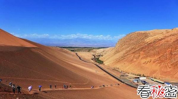 世界上最低的盆地:吐鲁番盆地