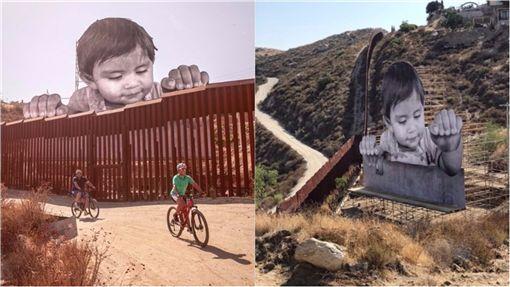 美国边界出现「进击的巨婴」! 反映民众探讨移民问题