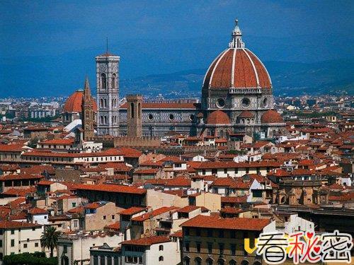 欧洲文艺复兴时期佛罗伦萨三大建筑的故事