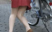 藤原瞳nhdta-340自行车 上坡路上竟然尿急流了出来|找福利