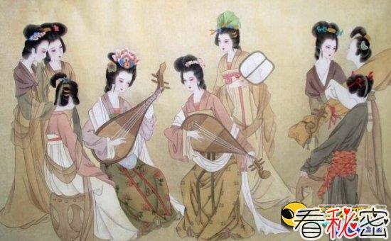 揭秘中国古代历史上的官妓:任人玩乐