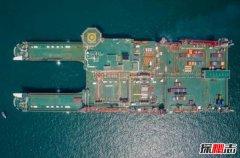 世界上最大的船 14年花费186亿元才最终完工