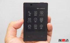 世界上最轻薄的手机:京瓷KY-01L,仅2.8英寸47克