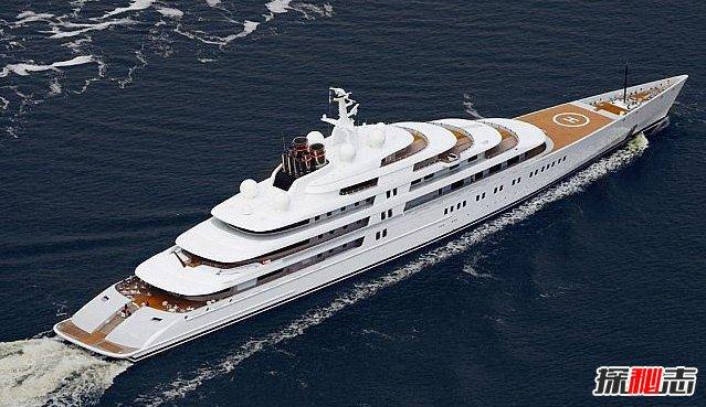 世界十大最贵私人游艇,阿扎姆-5.92亿美元