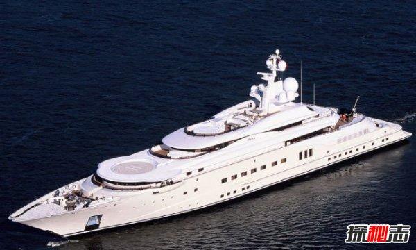 世界十大最贵私人游艇,哑罗经-3亿美元