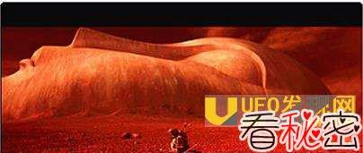 火星人也信仰佛教? 火星上发现巨大卧佛像