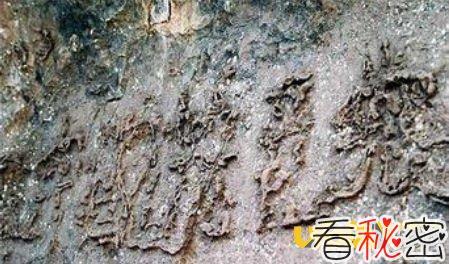 贵州藏字石事件独家大揭秘,贵州藏字石图片