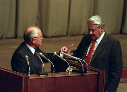 苏联解体时总统是谁