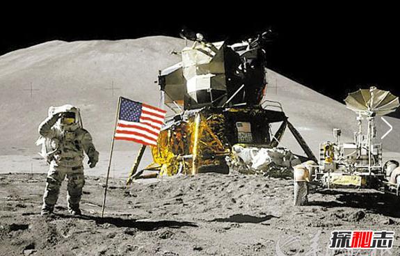 嫦娥三号拍到美国国旗,中国国旗会取代之?