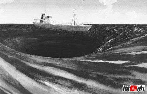 海洋漩涡黑洞之谜,船只离奇消失连信号都无法发出的真相