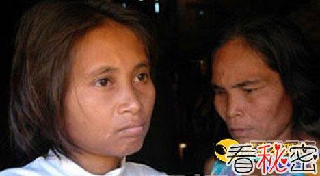 柬埔寨惊现真实女野人 身份之谜未解