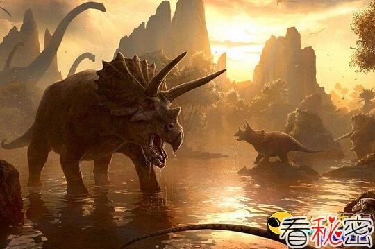 恐龙灭绝之谜:遭到远古外星人实验!