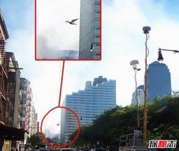 911事件灵异照片揭秘 照片惊现天蛾人和魔鬼脸
