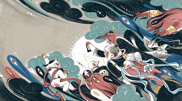 日本百鬼夜行妖怪排行 日本神话中十大最强妖怪