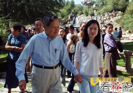 杨振宁和翁帆的女儿:杨振宁的孙女杨喜照片
