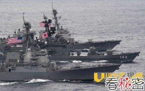 韩美日举行演习:针对韩国威慑中国!